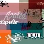 50 logos tipográficos