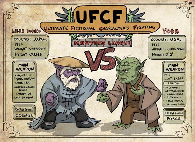 Batallas épicas de ficción