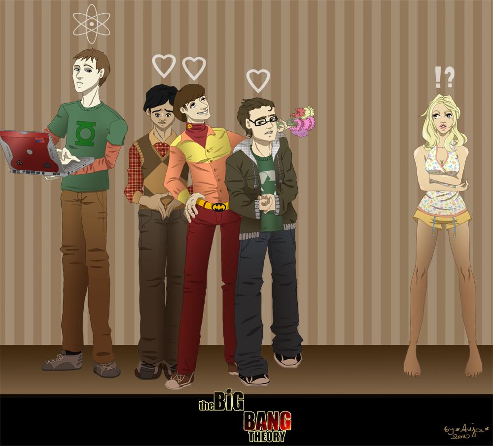The Big Bang Theory - Ilustraciones