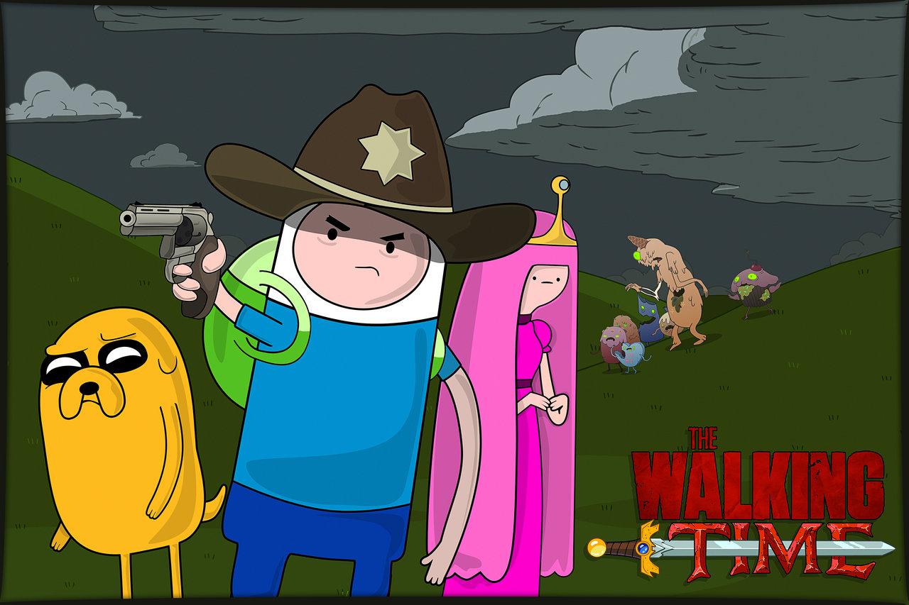 65 Ilustraciones De The Walking Dead