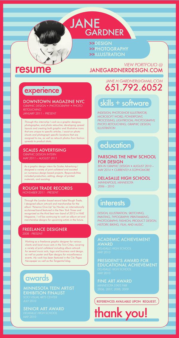 curriculums creativos para conseguir trabajo facilmente