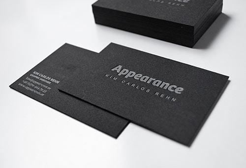 40 Tarjetas Personales Con Excelente Uso De Tipografia