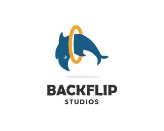 delfin_logo_backflip