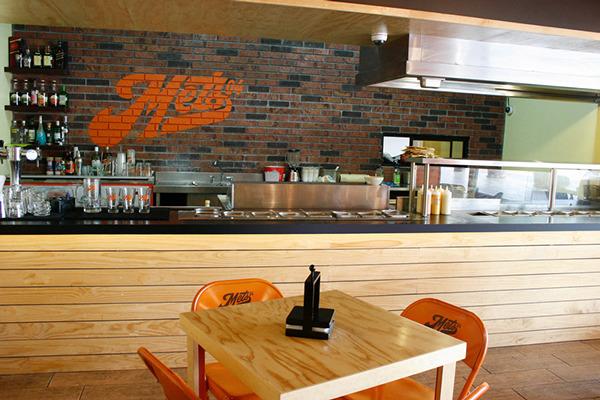 Espectaculares dise os de restaurantes de hamburguesas de Disenos de interiores para restaurantes