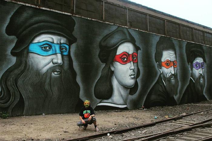 tortugas_ninja_pintores_renacentistas_mural_new_york_3