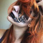 Esta artista transforma su cara en tenebrosas creaciones con maquillaje