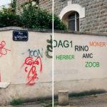 Este pibe transforma los graffitis en textos legibles