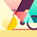 Impactantes y coloridas ilustraciones con estilo minimalista