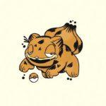 Este artista está fusionando a los Pokemon con el gato Garfield