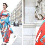 Estas novias japonesas están convirtiendo sus tradicionales kimonos en extraordinarios vestidos de novia