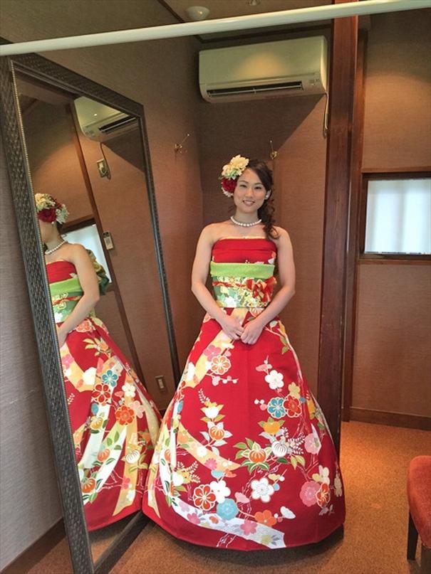 Vestidos de novia japoneses tradicionales