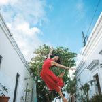 Dinámicas fotos de bailarinas de ballet en las calles de Puerto Rico