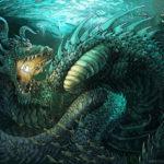 Esta artista pinta dragones y bestias míticas combinando técnicas tradicionales y digitales