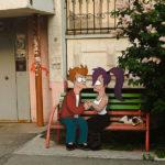 30 personajes de dibujos animados y películas interactuando con la realidad