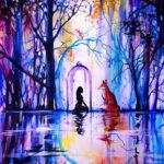 Esta artista representa en la pintura lo que no se puede expresar con palabras
