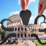 Este fotógrafo usa recortes de papel para convertir lugares famosos en arte