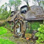 Un fanático del Señor de los Anillos construye su propia casa Hobbit