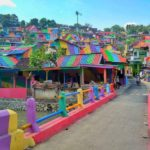 El gobierno de Indonesia invierte mas de 20.000 dolares para pintar 232 casas de un barrio humilde