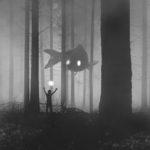 Artista polaco ilustra su lucha contra la depresión en misteriosas pinturas oscuras