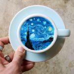 Este barista coreano crea autenticas obras de arte en el café