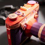 Este artista coreano reproduce cámaras de fotos vintage utilizando papel