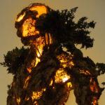 Naturaleza y tecnología combinadas en una espectacular escultura