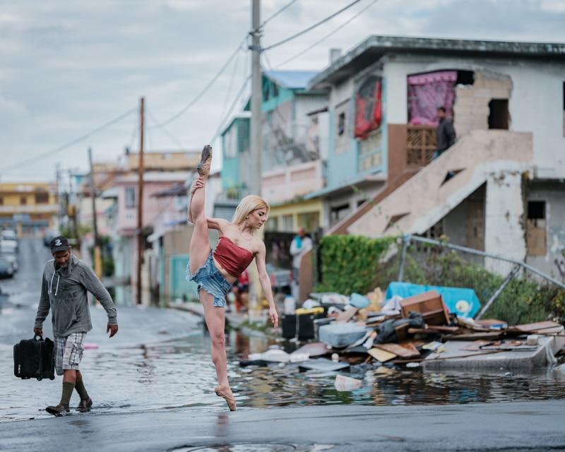 Bailarines de ballet en puerto rico 6 meses despu s del - Puerto rico huracan maria ...