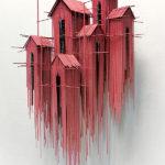 Impactantes esculturas arquitectónicas que parecen dibujos tridimensionales