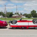 Este mecánico construyó una camioneta invertida por $6000 dolares