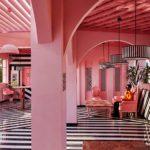 Este restaurante en India parece de una película de Wes Anderson