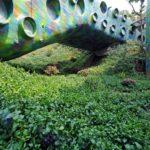 Esta casa con forma de serpiente surrealista se puede alquilar por Airbnb