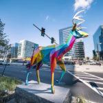 Imponentes esculturas coloridas en las calles de Boston