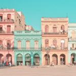 Fotografías de La Habana en tonos pastel parecen de una película de Wes Anderson