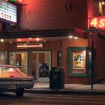 Fotografía de misteriosas y cinematográficas noches en California
