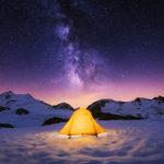 Impresionantes fotografías en la nieve de los Alpes
