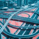 Fotografías infrarrojas de la ciudad de Dubai
