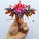 Crack del origami le da una decoración extra a sus grullas de papel