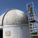 Fanático de Star Wars convierte un observatorio en un R2-D2 gigante