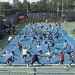 Crowded Fields: diferentes canchas repletas de deportistas