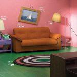 IKEA recreó la casa de los Simpsons con todos muebles de su catálogo