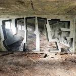 Estos graffitis convierten paredes planas en espacios tridimensionales