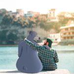 Artista usa la magia del Photoshop y se divierte con personajes de Disney